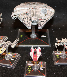 X-Wing Miniatures Demonstration